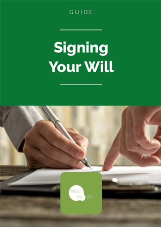 Signing your Will